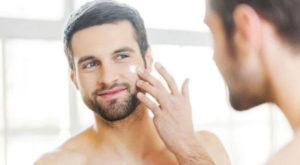 hidratação da pele masculina