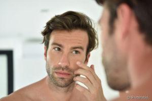pele masculina bem cuidada