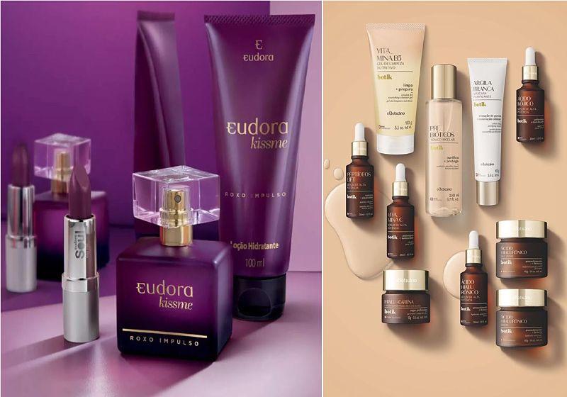 imagem ilustrativa de produtos de skincare