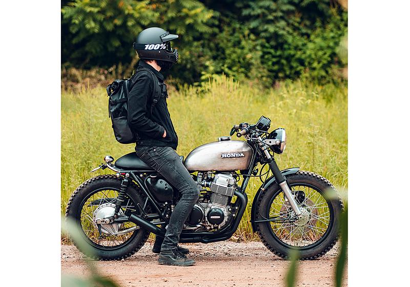 estilo para quem ama andar de moto