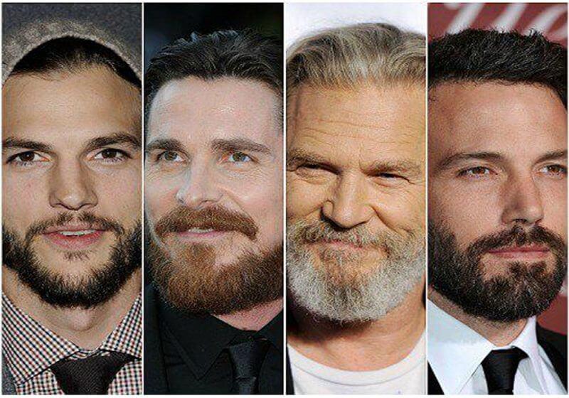 imagem com vários artistas com barba