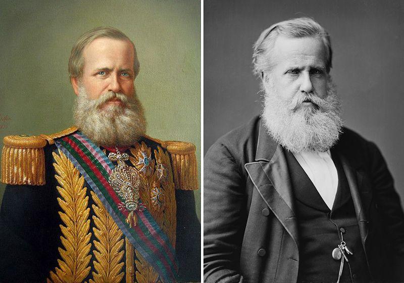 imagem histórica de barbas