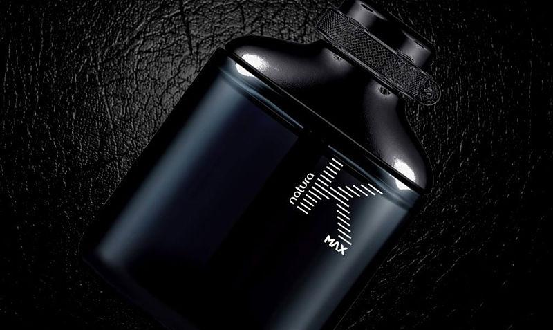 Imagem promocional do perfume K Max da marca Natura