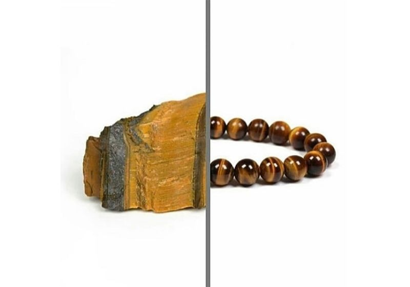 Imagem em destaque de metade pedra olho de tigre e metade pulseira
